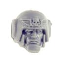 Warhammer 40k Bitz: Imperiale Armee - Cadianische Stosstruppen - Kopf D - Zufällig