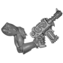 Warhammer 40k Bitz: Chaos Space Marines - Tzaangors - Waffe I1 - Links, Maschinenpistole