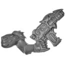 Warhammer 40k Bitz: Chaos Space Marines - Tzaangors - Waffe I4 - Links, Maschinenpistole
