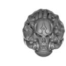Warhammer 40k Bitz: Chaos Space Marines - Helbrute - Head C