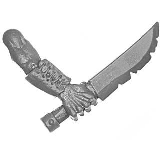 Warhammer AoS Bitz: VAMPIRFÜRSTEN - 008 - Zombies - Waffe G - Messer B