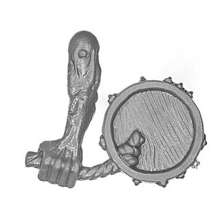 Warhammer AoS Bitz: VAMPIRFÜRSTEN - 008 - Zombies - Waffe K - Trommel