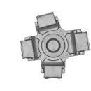 Warhammer 40k Bitz: Chaos Space Marines - Helbrute - Torso D05 - Foot, Left