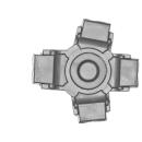 Warhammer 40k Bitz: Chaos Space Marines - Helbrute - Torso D06 - Foot, Right