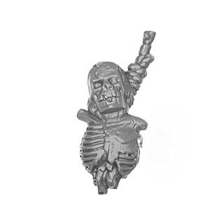 Warhammer AoS Bitz: VAMPIRFÜRSTEN - 008 - Zombies - Accessoire E - Skelett am Strick