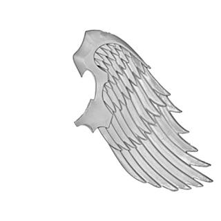 Warhammer 40k Bitz: Blood Angels - Sanguinische Garde - Sprungmodul A1 - Flügel, Links