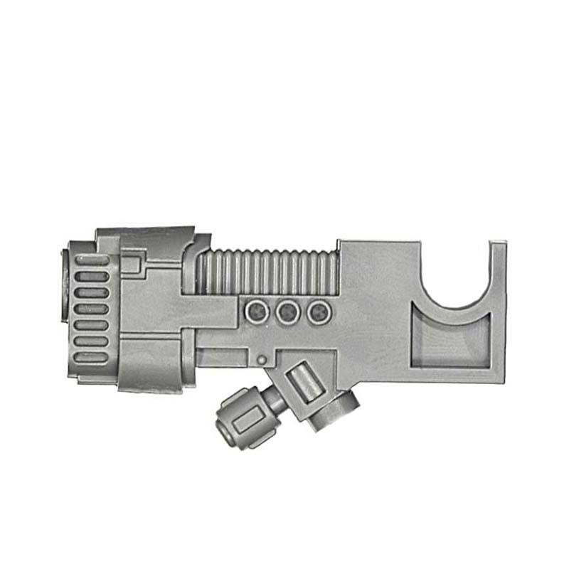 40K Space Marines Venerable Dreadnought Right Arm Plasma Cannon Bits
