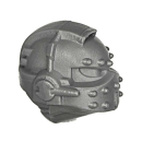 Warhammer 40k Bitz: Space Marines - Ehrwürdiger Cybot -  Kopf A