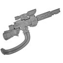 Warhammer 40k Bitz: Militarum Tempestus - Scions / Command Squad - Hot Shot Lasgun B3