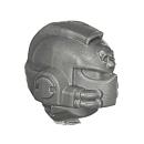 Warhammer 40k Bitz: Space Marine - Venerable Dreadnought - Head C