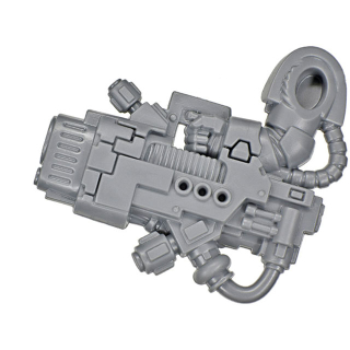 Warhammer 40k Bitz: Dark Angels - Deathwing Terminators - Plasma Cannon A1