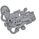Warhammer 40k Bitz: Dark Angels - Deathwing Terminators - Plasma Cannon A1