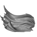 Warhammer AoS Bitz: CHAOS - Gorebeast Chariot - Crew Torso C2 - Cloak