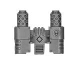 Warhammer 40k Bitz: Space Marines - Ironclad Cybot - Auspuff A1