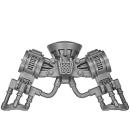Warhammer 40k Bitz: Space Marines - Ironclad Dreadnought - Legs A2