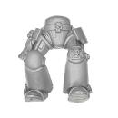 Warhammer 40k Bitz: Space Marines - Terminatortrupp - Beine B