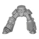 Warhammer 40k Bitz: Space Marines - Terminatortrupp - Beine C
