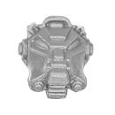 Warhammer 40k Bitz: Space Marines - Terminatortrupp - Kopf A