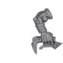 Warhammer 40k Bitz: Orks - Ork Waaaghbikes - Fahrer Arm A1