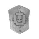 Warhammer 40k Bitz: Space Marines - Terminator Sturmtrupp - Accessoire E - Schulterschild III