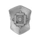 Warhammer 40k Bitz: Space Marines - Terminator Sturmtrupp - Accessoire F - Schulterschild IV