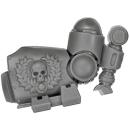 Warhammer 40k Bitz: Space Marines - Centurion Trupp - Arm C1 - Links