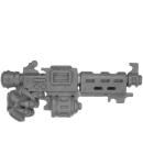 Warhammer 40k Bitz: Adeptus Mechanicus - Sicarian Infiltrators/Ruststalkers - Waffe W1 - Stubcarbine