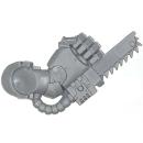 Warhammer 40k Bitz: Space Marines - Terminator Squad - Chain Fist A