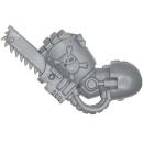 Warhammer 40k Bitz: Space Marines - Terminatortrupp - Kettenfaust A