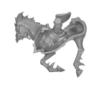 Warhammer AoS Bitz: DUNKELELFEN - 005 - Schwarze Reiter - Dunkelelfenross A1