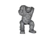 Warhammer 40k Bitz: Orks - Ork Pikk-Up - Besatzung Schütze E - Torso