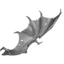 Warhammer 40K Bitz: Tyraniden - Gargoylenrotte - Flügel E1