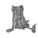 Warhammer AoS Bitz: VAMPIRE COUNTS - Black Knights - Legs A1 - Left