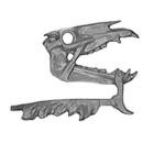 Warhammer AoS Bitz: VAMPIRE COUNTS - Black Knights - Head L1 - Skeletal Steed