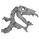 Warhammer AoS Bitz: VAMPIRE COUNTS - Black Knights - Head L2 - Skeletal Steed