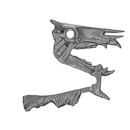 Warhammer AoS Bitz: VAMPIRE COUNTS - Black Knights - Head M2 - Skeletal Steed