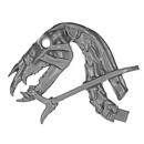 Warhammer AoS Bitz: VAMPIRE COUNTS - Black Knights - Head N1 - Skeletal Steed