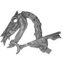 Warhammer AoS Bitz: VAMPIRE COUNTS - Black Knights - Head O2 - Skeletal Steed