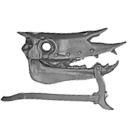 Warhammer AoS Bitz: VAMPIRE COUNTS - Black Knights - Head P2 - Skeletal Steed