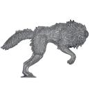 Warhammer 40k Bitz: Space Wolves - Fenrisian Wolf Pack - Wolf C1