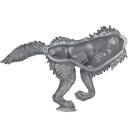 Warhammer 40k Bitz: Space Wolves - Fenrisian Wolf Pack - Wolf D2