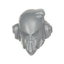 Warhammer 40k Bitz: Dark Angels - Veteranen - Kopf F - MK VI