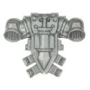 Warhammer 40k Bitz: Dark Angels - Veteranen - Backpack A