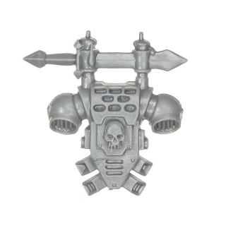 Warhammer 40k Bitz: Dark Angels - Veteranen - Rückenmodul C