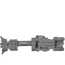 Warhammer 40k Bitz: Necron - Exovenatoren - Synchro Tesla-Karabiner B