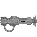 Warhammer 40k Bitz: Necron - Exovenatoren - Synchro Tesla-Karabiner C