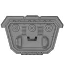Warhammer 40k Bitz: Militarum Tempestus - Taurox - Chassis A6 - Track, Front, Right