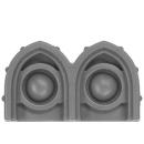Warhammer 40k Bitz: Militarum Tempestus - Taurox - Accessory B4 - Headlight