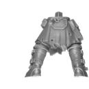 Warhammer 40k Bitz: Genestealer Cults - Neophyte Hybrids - Legs F - Leader