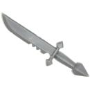 Warhammer 40k Bitz: Dark Angels - Veteranen - Accessoire U - Messer